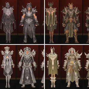 Dunar Temple Armor Sets