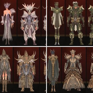 Accursed Tower Armor Sets