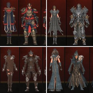Shrine of Handras Armor Sets