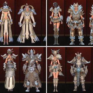Wintertide Crafted Armor Sets