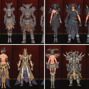 Alentia Crafted Armor Sets
