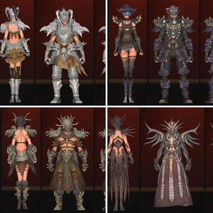 Inartia Crafted Armor Sets