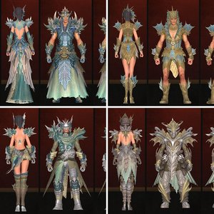 Olandra Crafted Armor Sets