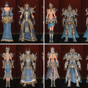 Porthis Crafted Armor Sets