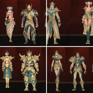 Thadrea Crafted Armor Sets
