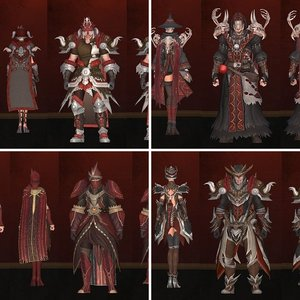 Sitheran Crafted Armor Set