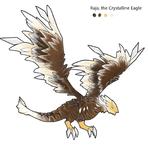 Raja, the Crystalline Eagle